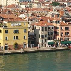 Venice, Italy - Leaving Port of Venice