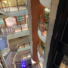 Atrium of SS Voyager