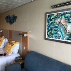 Superior Oceanview Balcony Cabin