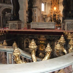 Civitavecchia (Rome), Italy - St Peter's tomb