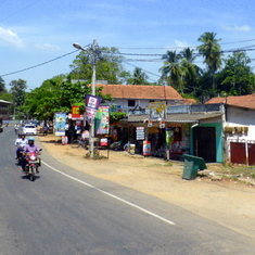 Street Scene in Sri Lanka