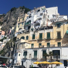 Naples, Italy - Town of Amalfi