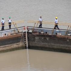 Lock gates, Panama Canal