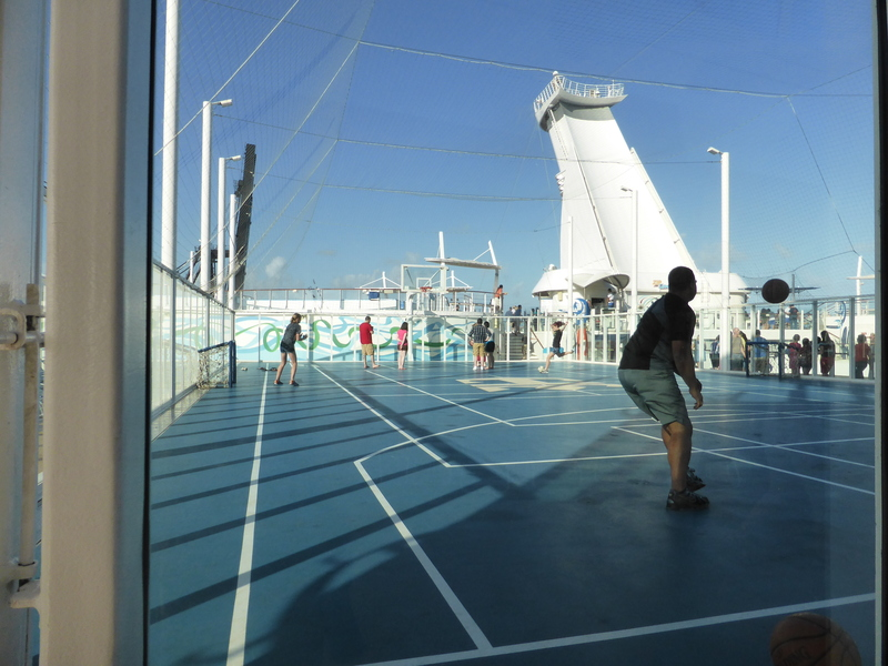 Sports Deck - Allure of the Seas