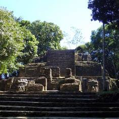 Belize City, Belize - Lamanai Ruins, Belize