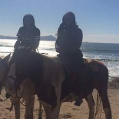 Ensenada, Mexico - Horseback riding
