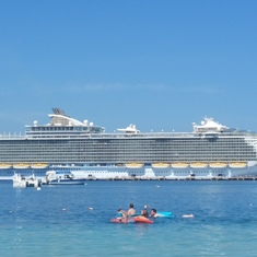 Photo of Oasis from the Beach on Labadee