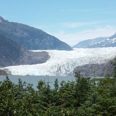 Juneau, Alaska - Mendenhall Glacier