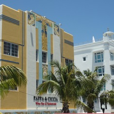 Art Deco buildings at South Beach, Miami