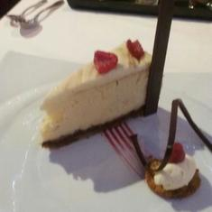 hazelnut cheese cake