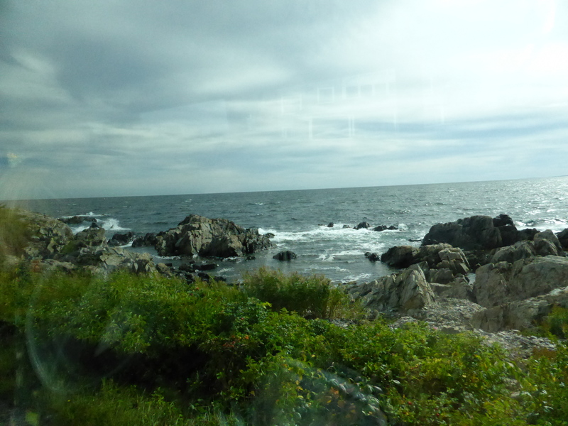 Rocky Maine Shoreline - Celebrity Summit