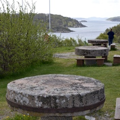 Millstones in Sweden