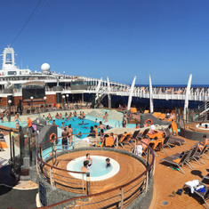 Divina Pool Deck Panorama