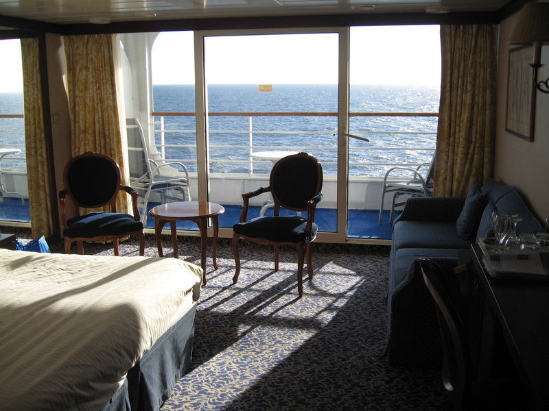 Our cabin, loved it - Pacific Princess