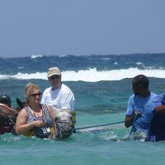 Falmouth, Jamaica - Horseback Riding in the Ocean in Jamaica