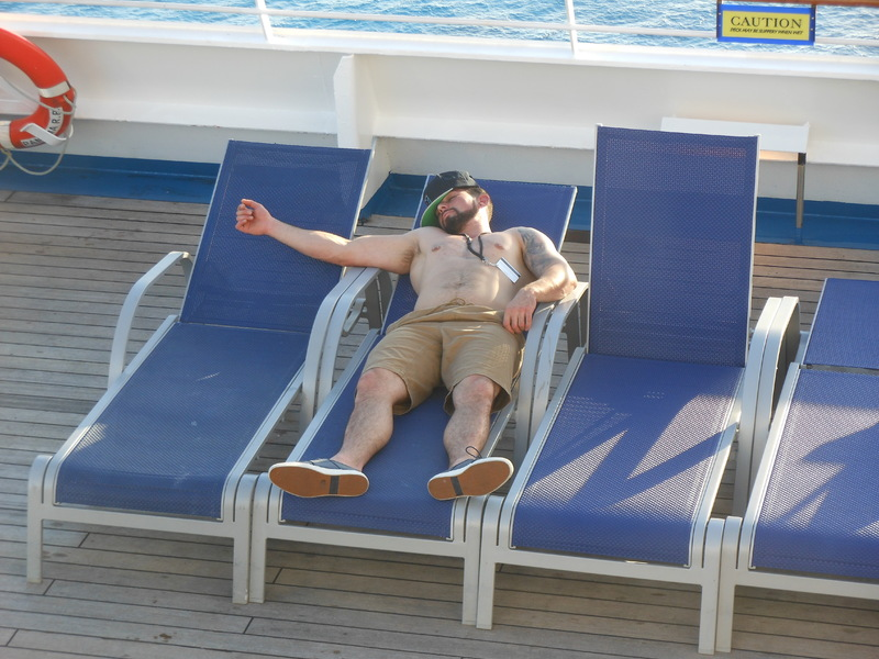 This Guy Rocked it! - Carnival Conquest