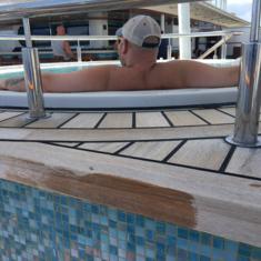 Vibe Beach Club on Norwegian Getaway