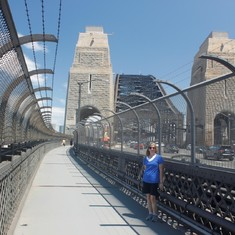 Walking the Bridge in Sydney