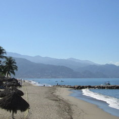 Puerto Vallarta, Mexico - On the beach