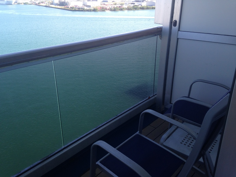 Carnival Liberty cabin 8267 - awesome balcony!