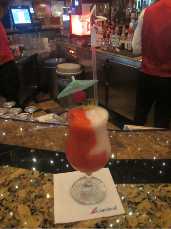 Bar on Carnival Elation