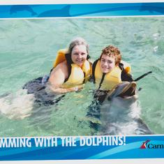Doliphin swim in Nassau