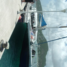 catamaran in st. martin