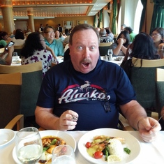 Cruise Inside Passage, Alaska - Lots of great food in the Tides Dining Room