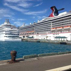 Nassau, Bahamas - Nassau Port