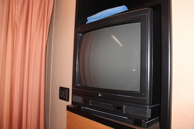Carnival Victory cabin 8275 - our outdated tv