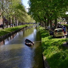 Amsterdam, Netherlands - Edam waterway