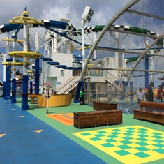 Water Slides - Carnival Sunshine