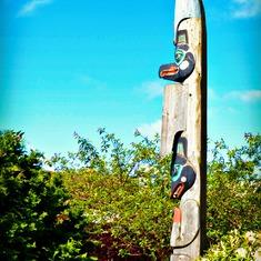 Totems in Alaska