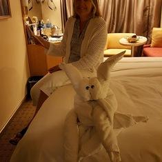 Towel Animals every night