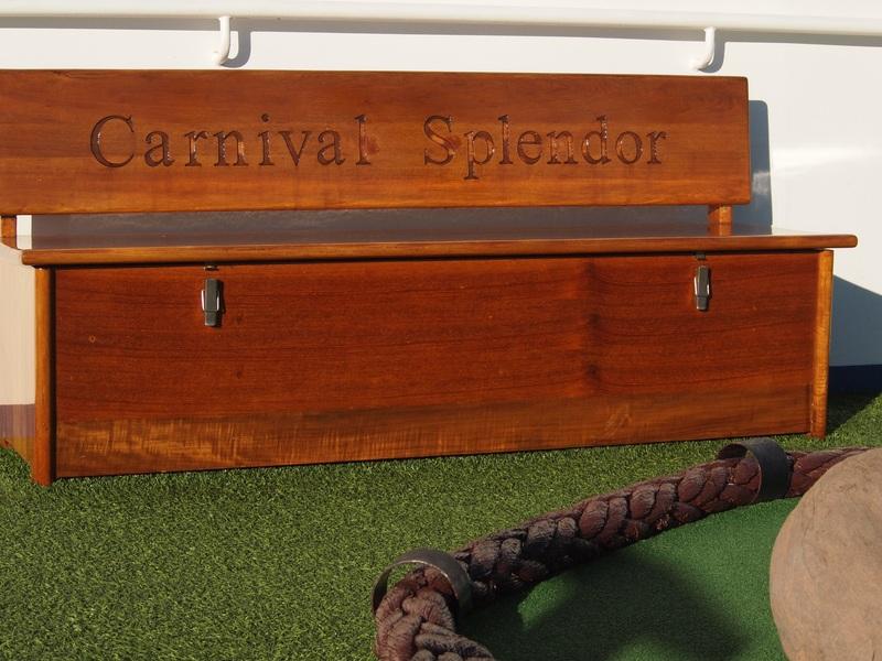 Chest, no treasure - Carnival Splendor