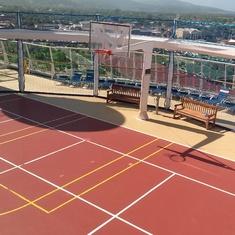 Sports deck