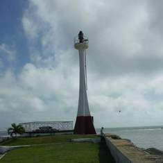 Belize City, Belize - Belize City lighthouse