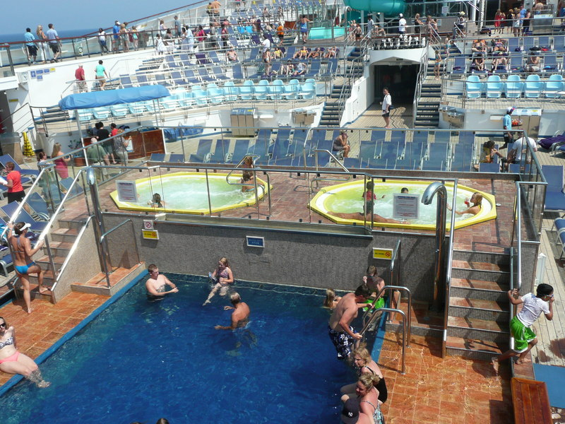 Pool Deck - Carnival Freedom