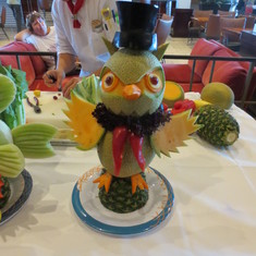 Fruit/Veggie Carving Demo