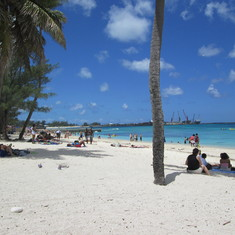 BEAUTIFUL BEACH AT NASSAU