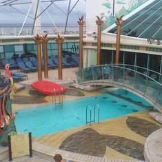 Adult Pool area