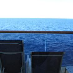 beautiful sea from balcony