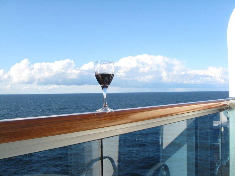Oh, do I love sailing--North Sea - Regal Princess