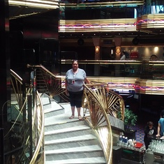 staircase in ship