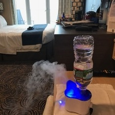i brought my personal humidifier