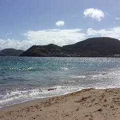 Basseterre, St. Kitts - St. Kitts Marriott beach