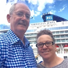 Boarding the Norwegian Jewel