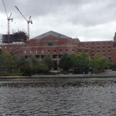 Boston jail, waterview😃