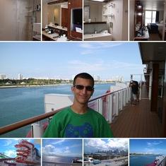 Pre-departure collage
