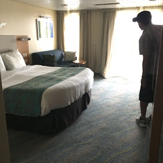 More like a hotel room than a stateroom